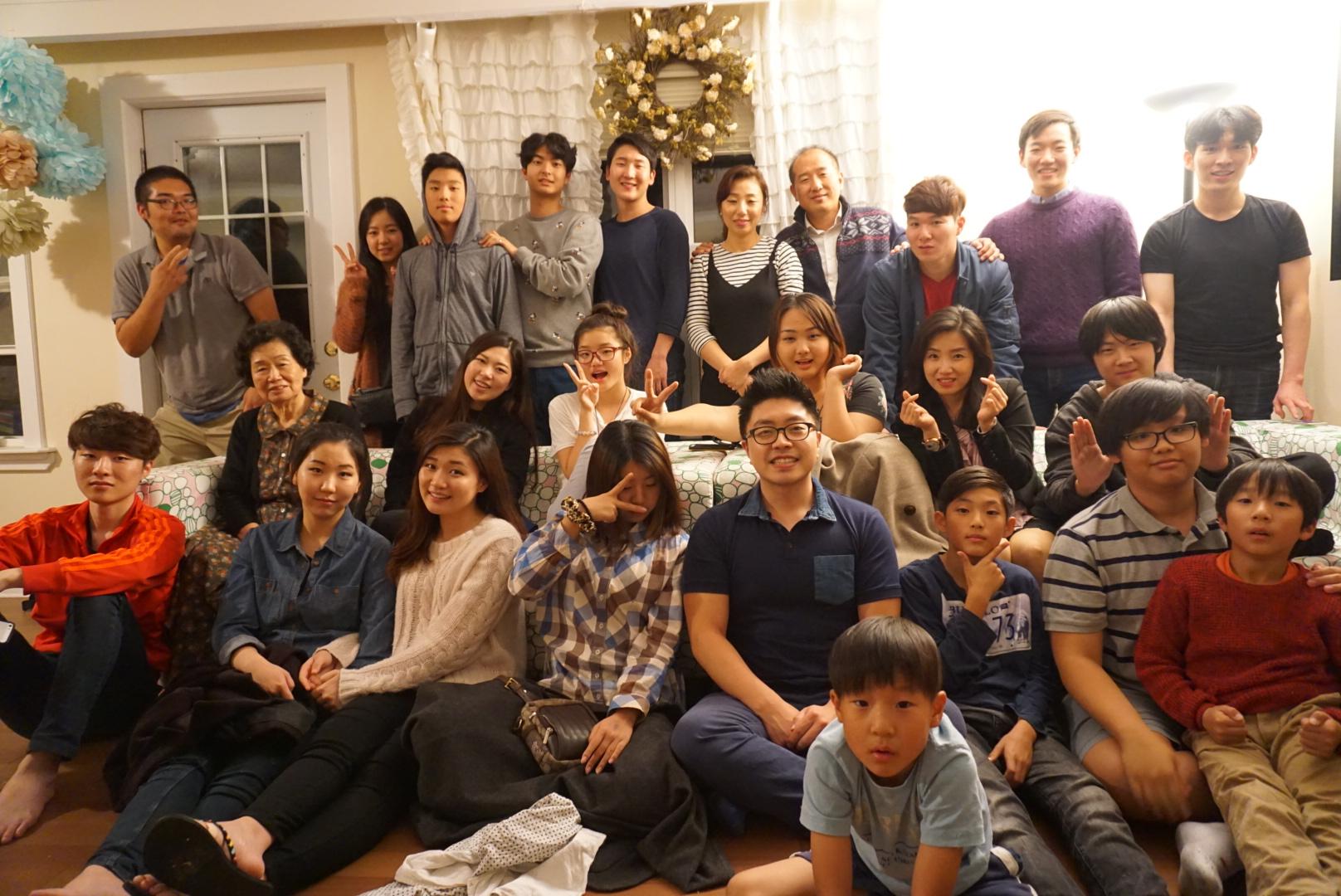 2015년 TCC 추수감사절 디너파티