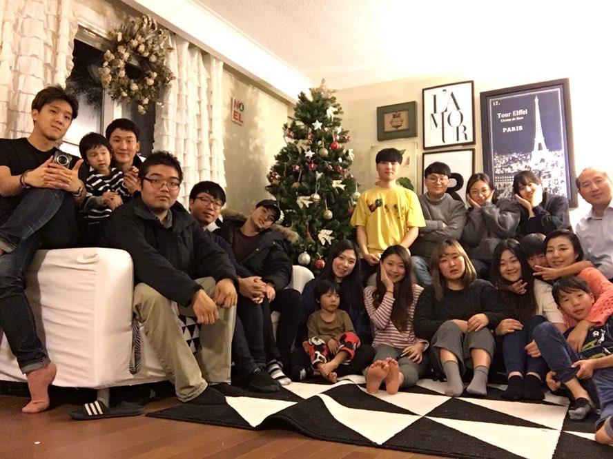 2016년 12월4일 새가족 환영회 @ 목사관
