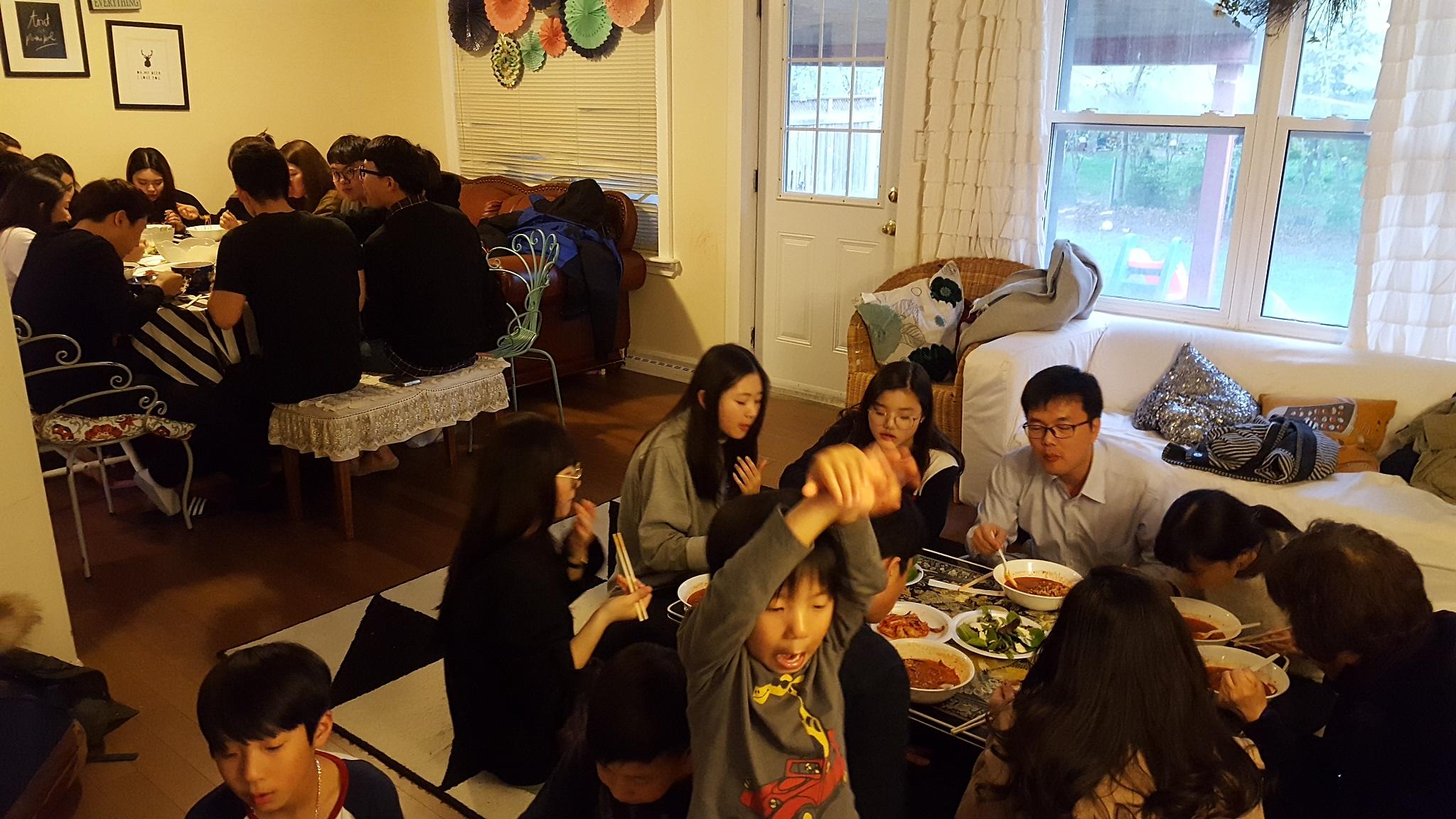 2017년 5월 새가족 환영 디너 1