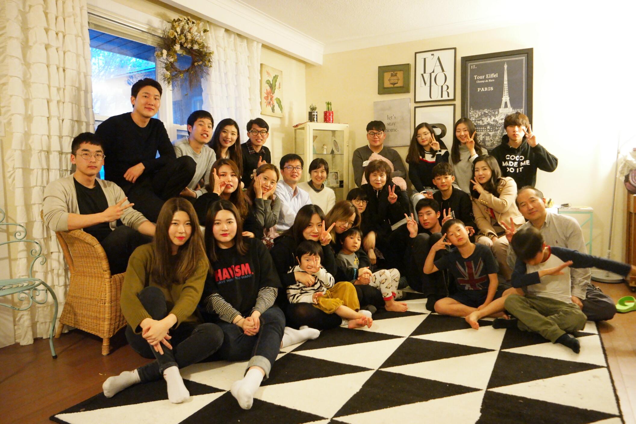 2017년 5월 새가족 환영 디너 2
