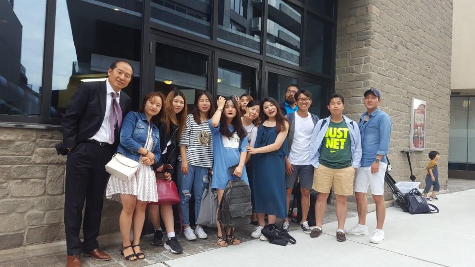 2017년 7월에 한국으로 파송한 커넥트 식구들