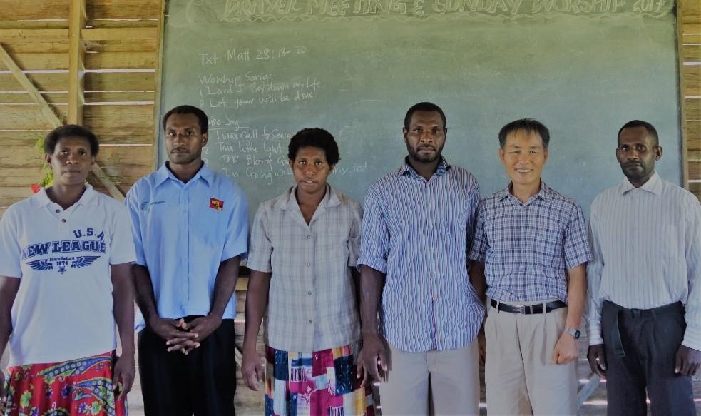 파푸아뉴기니 심재욱 장선애 선교사 기도편지 (2019)